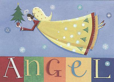 Paper Magic Group Inc (Chrismas Cards Angel Qty 16 Paper Magic Group)