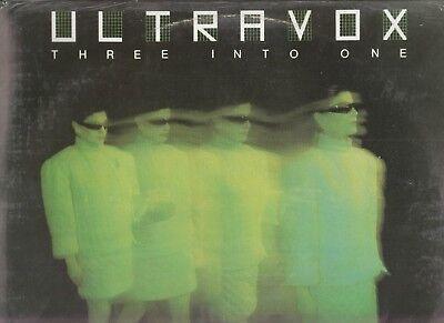 ULTRAVOX - Three Into One (Best Of + Rarities) VINYL NEW SEALED Italian