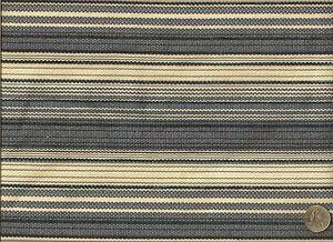 Retreat Indigo Woven Elegant  Blues and white Stripe Upholstery Fabric