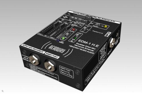 HEADWAY EDM1 H.E Acoustic Pre-Amp. NEW 2021 Model