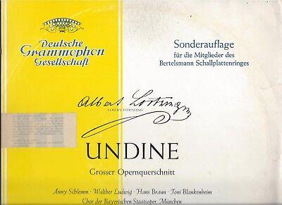 Undine Albert Lortzing : DGG von 1962 : Anny Schlemm - Victor Reinshagen
