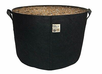 Single (1) Top Grower Premium Fabric Pot Aeration Smart Grow Bag Indoor/Outdoor