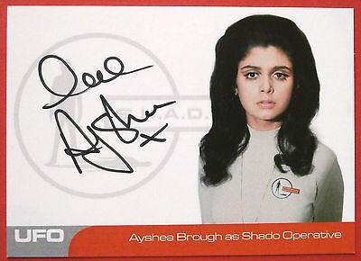 UFO - AYSHEA BROUGH (AB1) - Shado Operative - VERY LIMITED Autograph Card