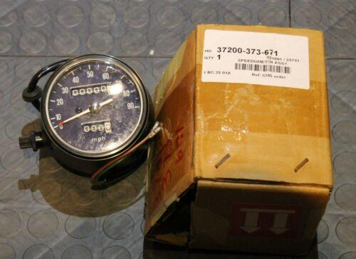 NOS Honda Speedometer Assembly (MPH/KPH) 1976 MR175 37200-373-671 New BINE