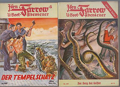 Jörn Farrow Originalhefte 1951 Nummer 167 - 232 fast komplett (186,228 fehlt)