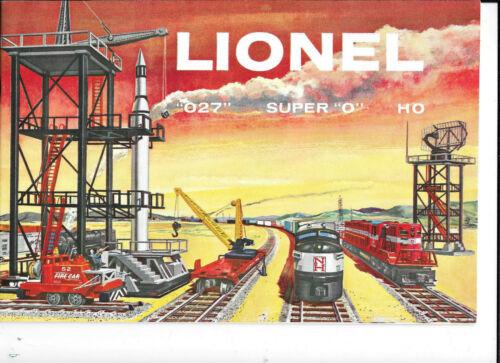 1958 Lionel Customer Catalog NM+