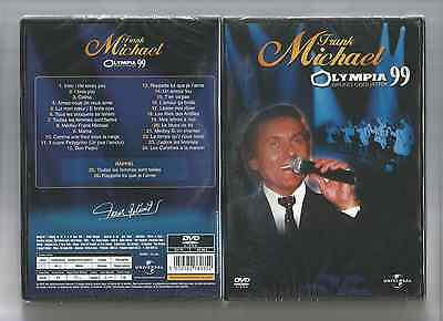 DVD - FRANK MICHAEL - OLYMPIA 99 - DVD NEUF CELLO