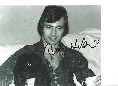 Alan Hudson signed 10x8 inch b/w photo, football player EL195
