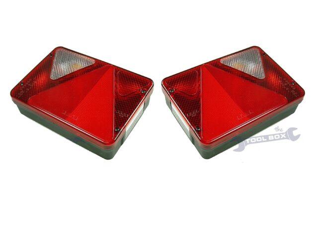 Erde Daxara Maypole Trailer Combination Lamp AJBA RL80 (Right & Left Hand)