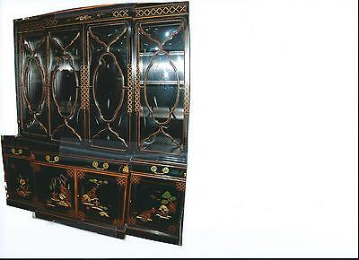 explore collections on ebay black lacquer china cabinet Greek China Cabinet Black Laquer