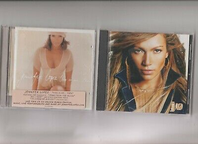 Jennifer Lopez : jLo + This is me ...... then  / TWO CD Albums