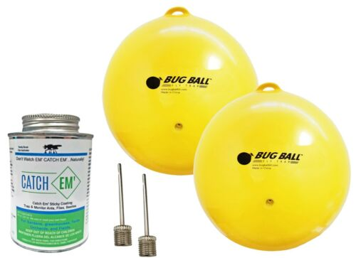 Gnat Ball Starter kit - Gnats, House Fly, No-See-Um, Aphids whiteflies