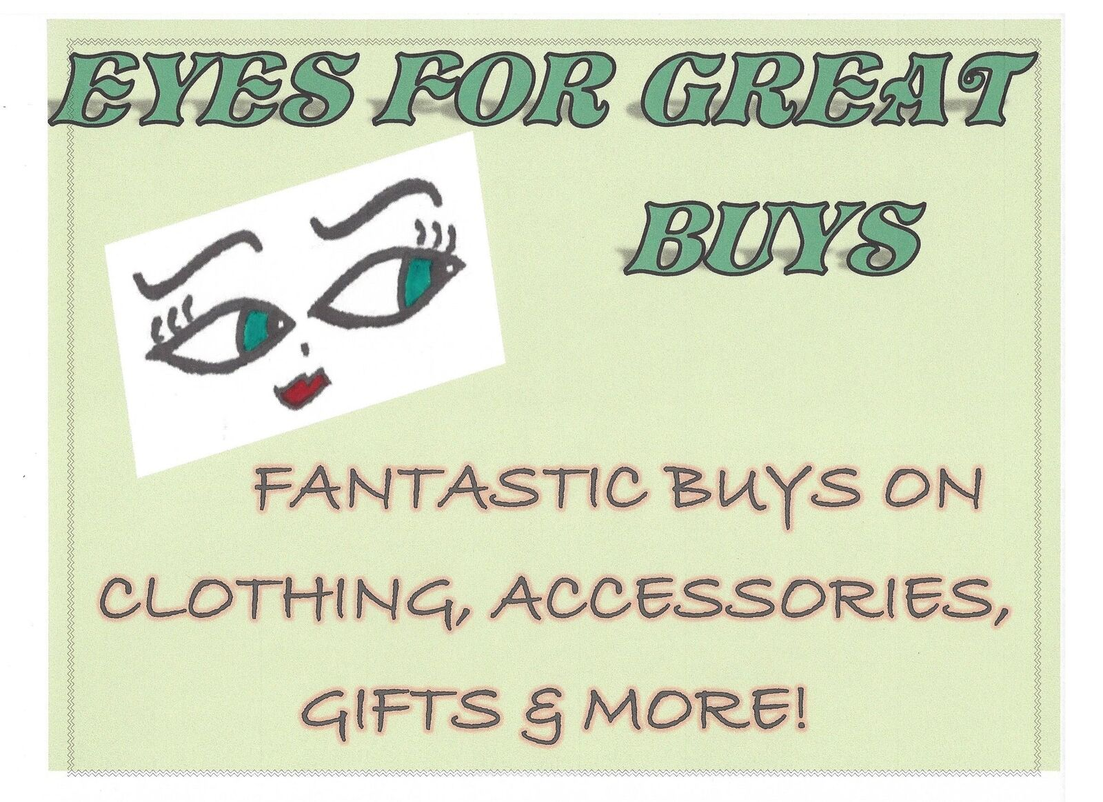 Eyes For Great Buys