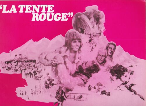 Sean CONNERY Claudia CARDINALE John FINC H. KRUGER French Pressbook TENTE ROUGE