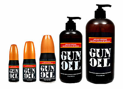 - Gun Oil Premium Silicon Based Personal Lubricant Sex Lube All Sizes