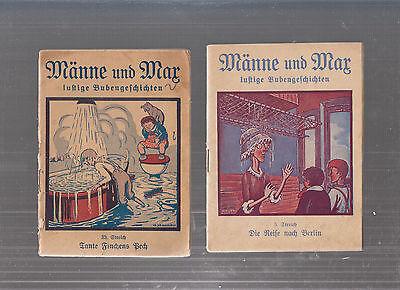 Männe und Max 1938 Nr. 5 + 33 W. Neuschub (Walter Kabel)