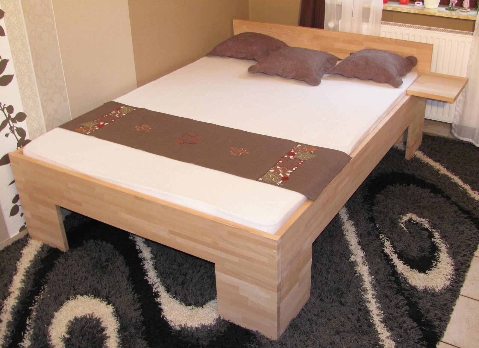 massivholzbett 140x200 fu ii doppelbett buche g stebett. Black Bedroom Furniture Sets. Home Design Ideas