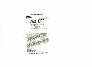 Staples 25 off 75 coupon code instore