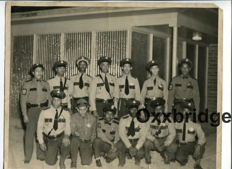 Black Law Enforcement Police Officers 1950 Civil Rights African American History