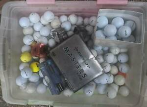 45 litre Tub Of Golf Balls,Some Brand New Ferntree Gully Knox Area Preview
