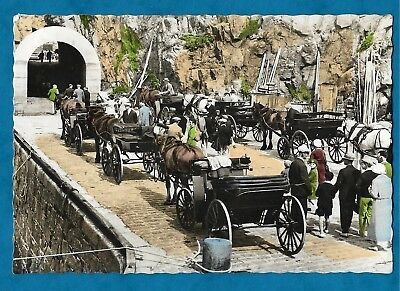 1959 RP PC - OLD FASHIONED TRANSPORT ON THE QUAY, SARK