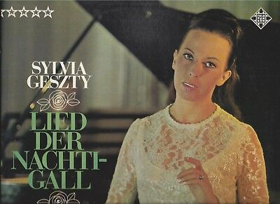 Sylvia Geszty : Lied der Nachtigall - Coloratura Nightingale - Vinyl LP Telefunk