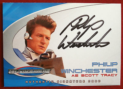 Thunderbirds (The Movie) - PHILIP WINCHESTER, Scott Tracy - Autograph Card AC5