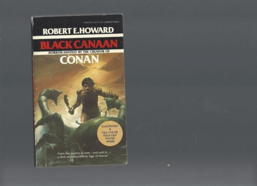 BLACK CANAAN, robert e. howard, 1978, a berkley book, * ( free shipping )