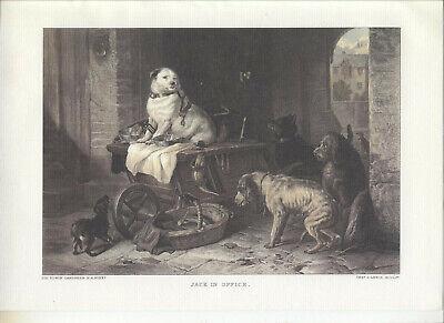 Sir Edwin Landseer - 4 Stück, Sorgfältigste Reproduktion! - Sir Edwin Landseer