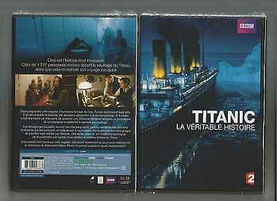 TITANIC - LA VERITABLE HISTOIRE  - DVD NEUF