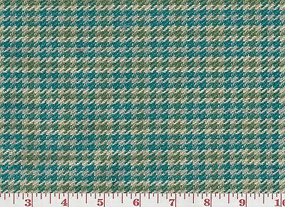 Ткань Green Teal Cotton Upholstery Fabric