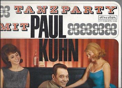 PAUL KUHN : Tanzparty mit Paul Kuhn - Vinyl LP 1960er jahre Swing + Schlager