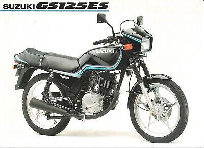 Suzuki GS125ES English Sales Brochure GS125ESD