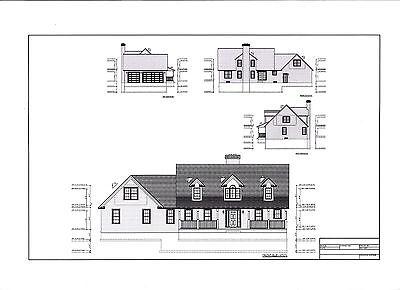 Full Set Of Two Story 4 Bedroom House Plans 2 944 Sq Ft