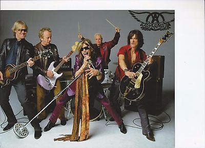 8 x 10 Glossy Photo Aerosmith  {120}