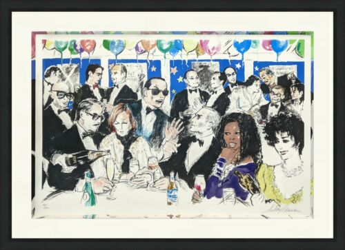 "Leroy Neiman ""celebrity Night At Spago"" 1993 