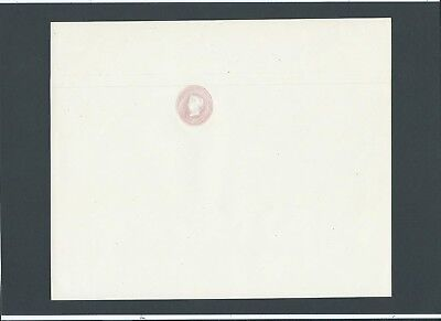 """GB Postal Stationery P.O. 1844 QV 1d Pink with """"ALBINO"""" Letter Sheet unused LP3"""