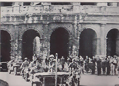 Allied Fifth Army Ride In Rome Lt Gen Clark Wwii Dispatch Photo News Service