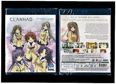 Clannad  Complete Anime Collection   Brand New 3 Disc Blu Ray Set