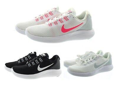 Nike 852469 Womens Lunar Converge Lightweight Mesh Running Shoes