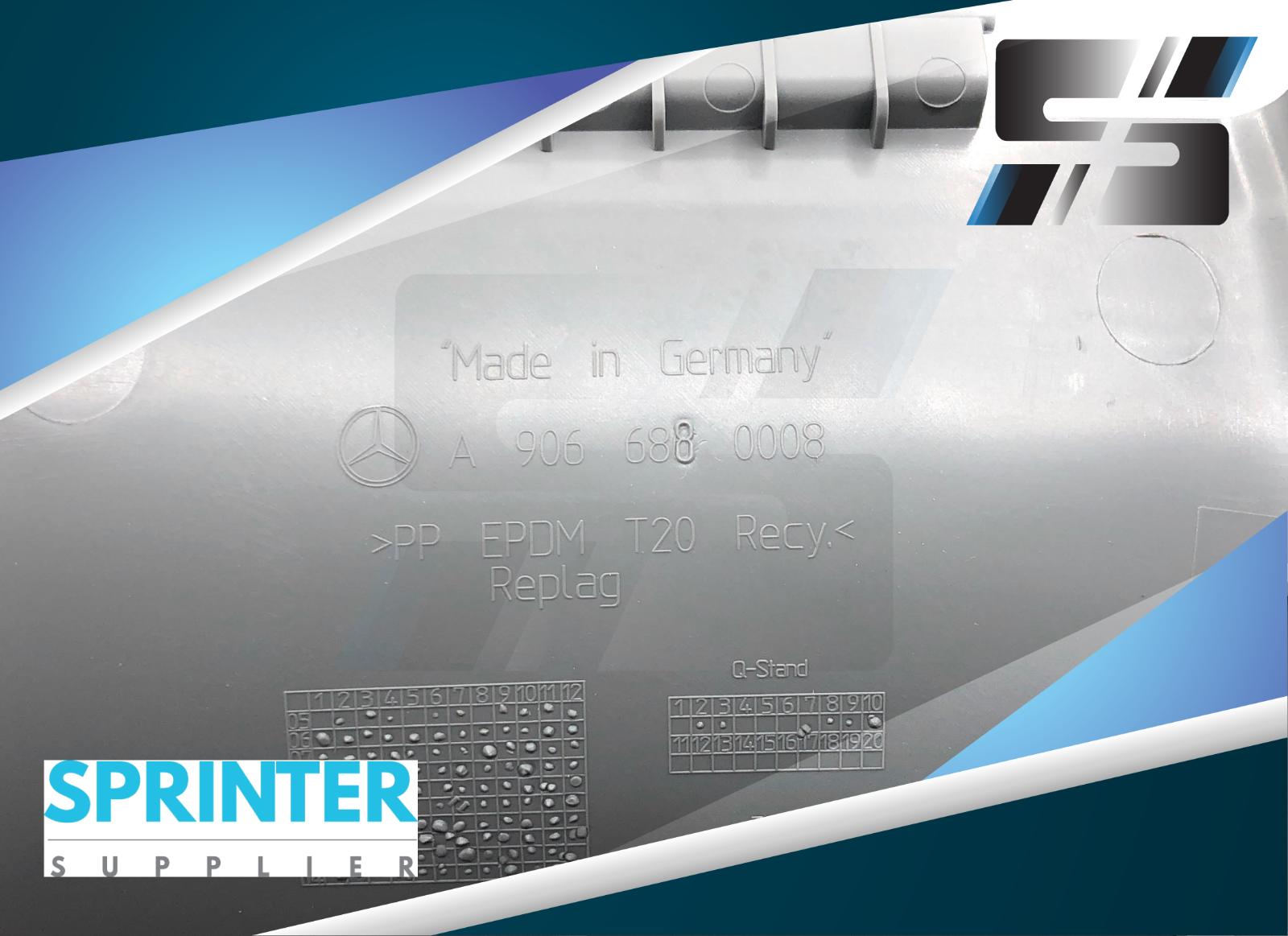 New Oem Mercedes Sprinter Dash Fuse Box Cover 2007
