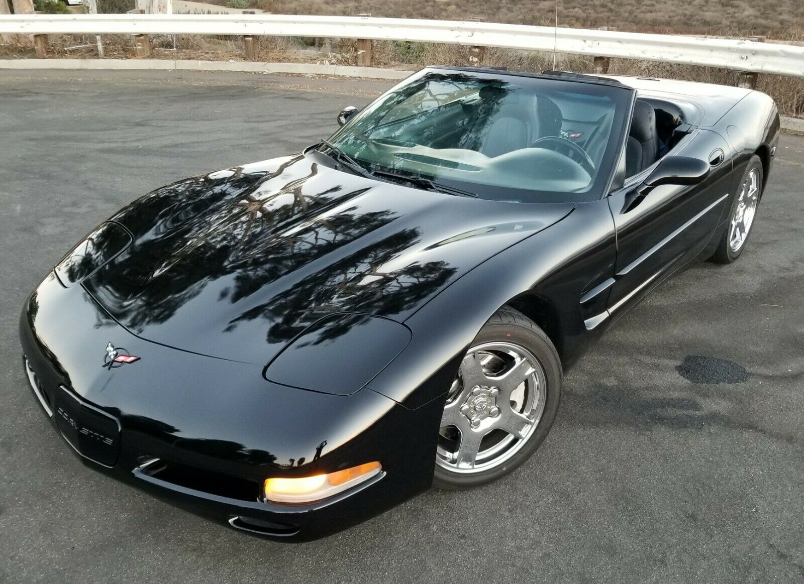 1998 Black Chevrolet Corvette   | C5 Corvette Photo 1