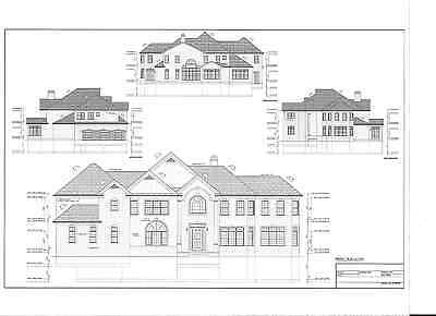 Full Set Of Two Story 5 Bedroom House Plans 5 052 Sq Ft