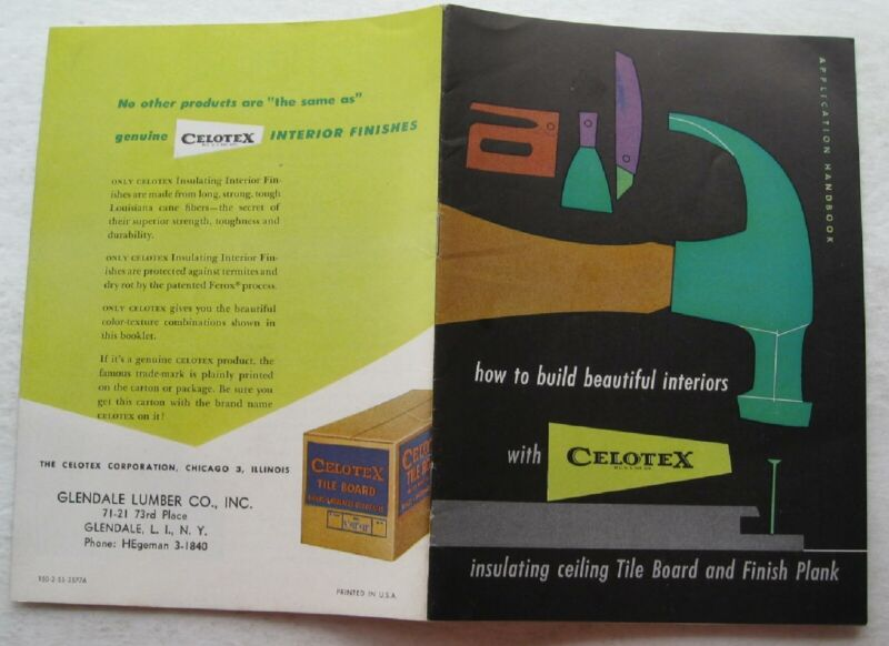 Booklet- How To Build beautiful Interiors With Celotex Tile Boards