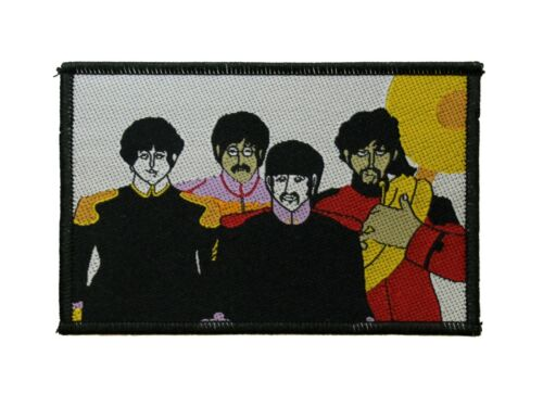 The Beatles Group Woven Sew On Battle Jacket Patch - Licensed 077-I