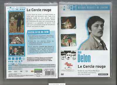 "ALAIN DELON-BOURVIL-YVES MONTAND "" LE CERCLE ROUGE   "" DVD NEUF"