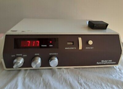 Turner Model 340 Spectrophotometer
