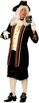 Venezianischer Edelmann Barock Kostüm NEU - Herren Karneval Fasching (Venezianischer Edelmann Kostüm)