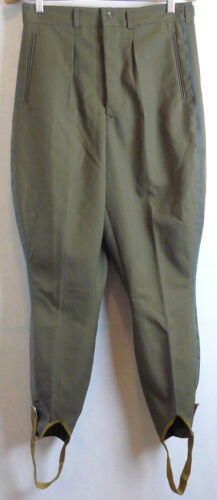 Daily Soviet Army Uniform Vintage Officer Pants Galife Trousers USSR Galliffet