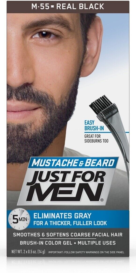 Just For Men Blk Gel Size 1z